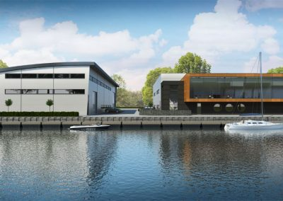 Nieuwbouw scheepswerf Werkendam