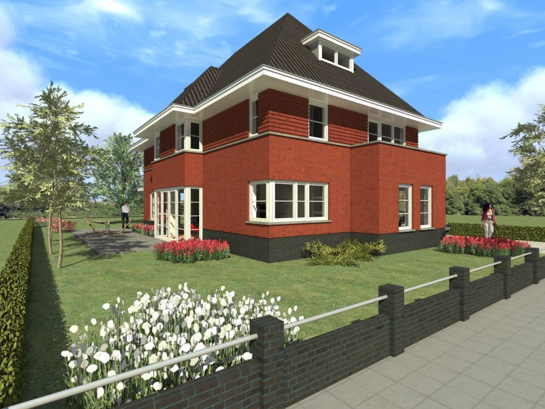 Nieuwbouw villa Strijen