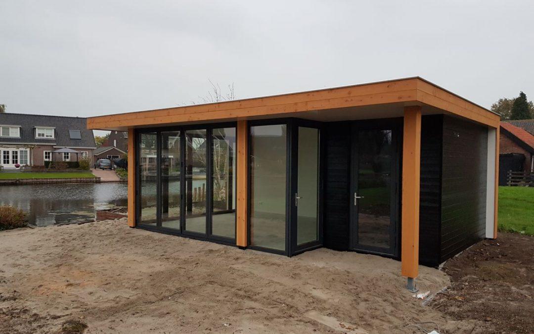 Nieuwbouw tuinhuis Oud-Alblas